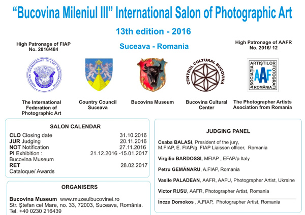 International Salon of Photographic Art