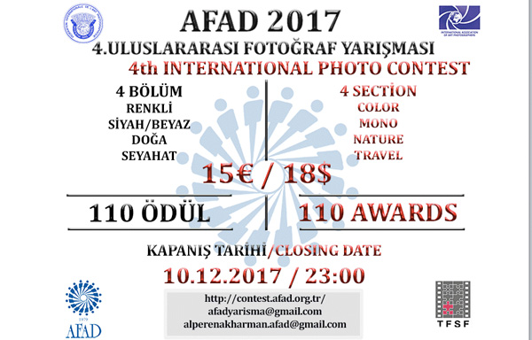 4th International Photography Contest of AFAD