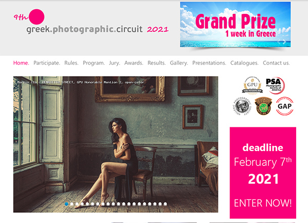 9th GREEK PHOTOGRAPHIC CIRCUIT 2021